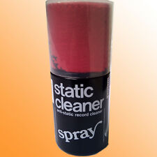 1x ANTI-STATIC RECORD CLEANER - VINYL CLEANER SPRAY (200 ml) INCL CLEANING CLOTH
