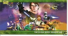 Star Wars Clone Wars Widevision 22 Silver cards