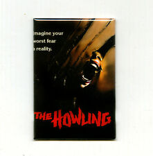 THE HOWLING - MINI POSTER MAGNET (cult horror 80s dante 1981 mondo print vhs lp)