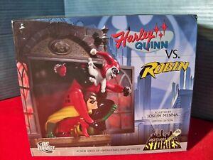 DC Direct Batman Gotham City Stories Harley vs Robin Wall statue 321 of 2000