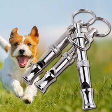 Dog Training Whistle Stop Barking Control Ultrasonic Sound Obedience Whistles