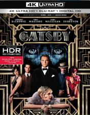 THE GREAT GATSBY 4K ULTRA HD | BLU-RAY | SLIPCOVER | REGION FREE | NEW