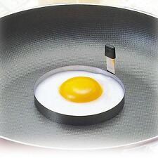 Forme Maison Cuisine Moule Rond Cuire Oeuf Pancake Acier Inoxydable Moule Tour