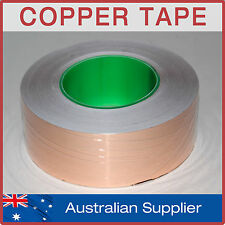 Copper Foil Tape - 50m x 50mm - EMI shielding, double sided conductive, adhesive