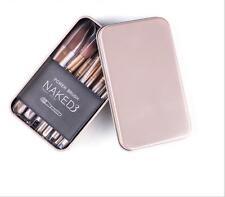 12PCS/Set Fashion Makeup Brushes Cosmetic Eyebrow Shadow Lip Brush Kit Pro Soft