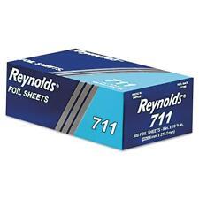 Reynolds Aluminum Foil Wrap Individual Size Sheet Dispenser 500 Bulk Pack...
