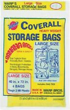 Coverall Heavyweight Storage Bag,No Cb-40, Warp Brothers, 3Pk