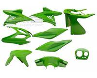 Kit de Disfraces Cubierta 9 Piezas de Revestimiento Verde para Yamaha Aerox