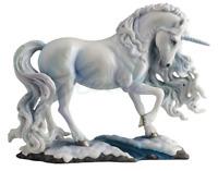 Pear Lecent Unicorn By Luna Lakota Figure Statue Sculpture GIFT BOXED-BEAUTIFUL!