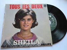 45 tours  SHEILA  TOUS LES DEUX  PHILIPS 437128