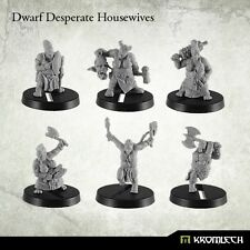 Kromlech BNIB Dwarf Desperate Housewives (6) KRM086