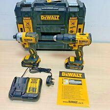 Dewalt DCK2060S2T-SFGB 2x 18V 1.5Ah Li-Ion XR Combi Drill Cordless *Twin Pack*