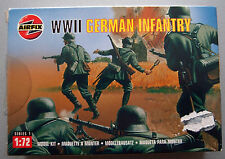 (PRL) AIRFIX WWII WORLD WAR  WW GERMAN INFANTRY 1:72 MODEL SOLDATINI TEDESCHI