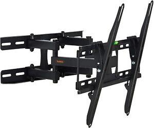 VonHaus 23-56 Inch TV Wall Bracket Mount Tilting Swivel Spirit Level Heavy Duty