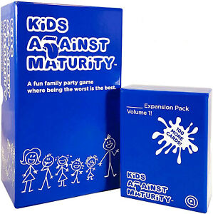 KIDS AGAINST MATURITY (Official Version)   Family Card Game for Kids & Humanity