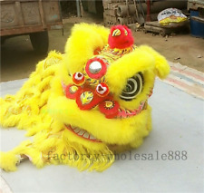 2019 Southern Lion Chinese Folk Art Lion Mascot Dance Costume Wool For Two Adult