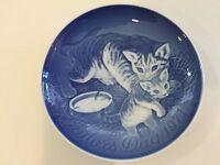 """Vintage B&G Bing & Grondahl 1971 Mors Dag Mother's Day Plate, 6"""" Diameter"""