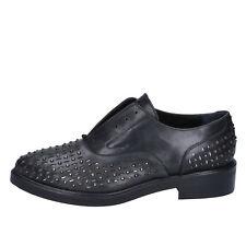 scarpe donna ALBANO 36 EU classiche nero pelle BY879-36