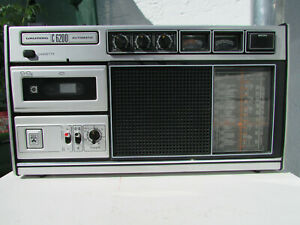 Grundig C 6200 Automatic Radio Kofferradio Vintage GRUNDIG C6200 Tuner Tapedeck