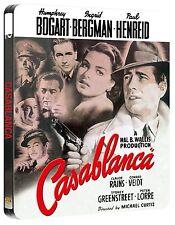 CASABLANCA (1942) BLU RAY HUMPHREY BOGART FILM STEELBOOK NEW REGION B EXCLUSIVE