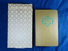 Vintage Girl Scouts Birthday Years Date Book 6-903, 50th Anniversary NEW