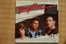 "Patrick Swayze Autogramm signed LP-Cover Soundtrack ""Youngblood"" Vinyl"