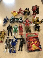 POWER RANGERS LOT 16Pc, VINTAGE, Variety, Bandai, Hidden TREASURES, Great Price