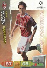 ALESSANDRO NESTA FANS AC.MILAN CARD ADRENALYN CHAMPIONS LEAGUE 2012 PANINI