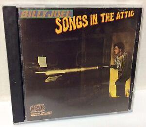 "BILLY JOEL ""Songs In The Attic"" Music Audio CD 💿 in Jewel Case (11 Songs)"