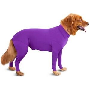 Pet Long Sleeve Recovery Bodysuit Jumpsuit Post Coat Surgery Suit For Dog Puppy