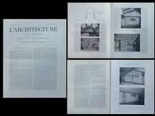 L'ARCHITECTURE N°27 1904 - METRO NEW YORK, HEINS LAFARGE