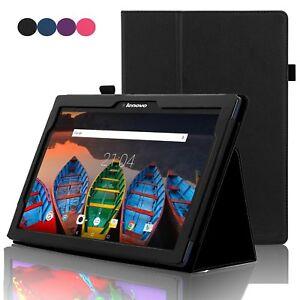 Premium PU Leather Folio Cover for Lenovo Tab 2 X30F/M TAB 2 A10-30F/L A10-70F/L