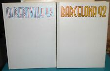 Albertville 92 and Barcelona 92 Olympics Books Olympic Sport Library Volumes