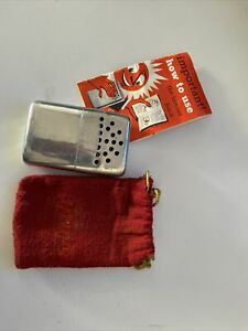 Vintage Jon-E Large G.I. Size Hand Warmer With Pouch