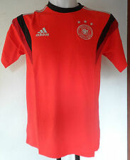 GERMANY 2014 RED TRAINING TEE BY ADIDAS ADULTS SIZE ADULT LARGE BRAND NEW