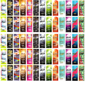 NEW PRO TAN SUNBED SALON TANNING LOTION CREAM RESALE PACKAGE DEAL 65 SACHETS