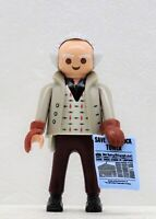 DR. EMMETT BROWN 1955 PLAYMOBIL zu Marty McFly BACK TO THE FUTURE Movie NEU !!!