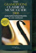 THE GRAMOPHONE CLASSICAL MUSIC GUIDE 2008-BOOK W/DVD-CD-DOWNLOAD BRAND NEW SALE!