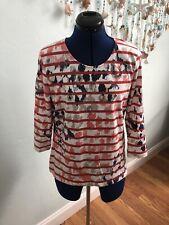 Beautiful Gerry Weber Women's Top Long Sleeves Organic Cotton Women's Clothing