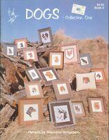 Dogs 1 Cross Stitch Booklet 1980 Hedgepath Doberman Poodle Spaniel Dacshsund