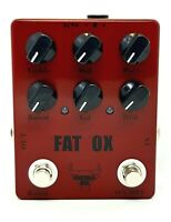 """METAL OX, OXP-101 """"Fat Ox"""" Heavy Metal Distortion Guitar Effect Pedal (From UK)"""