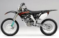 Jagermeister HONDA Graphics Kit CRF 450 R 2009 - 2012 AMA Supercross Motocross