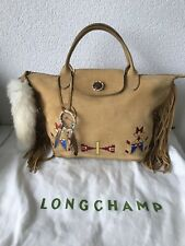 Neuf... Rare Sac à Main- cabas- bag - tasche - Longchamp Pliage Style Indien
