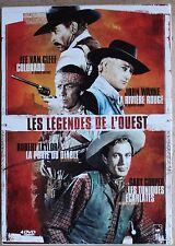 LES LEGENDES DE L'OUEST   4 DVD