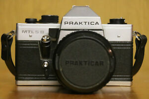 Praktica MTL 5 B Spiegelreflexkamera mit Zubehör original DDR