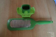 Tupperware Profi Reibe, D182 inkl. feiner Reibeinsatz, Fingersch. wie neu! grün
