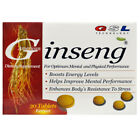 GSL Dietary Supplement American Ginseng, 30 Tablets Helps Improve Mental