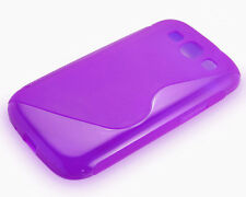 Slim S-Shape TPU Silicone Gel Rubber Soft Skin Case Cover For Samsung Galaxy S3