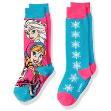 Disney Frozen Knee High Anna White Dot Socks Size 6-8