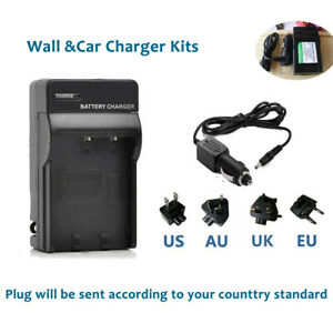 Battery Charger for Nikon Coolpix S200 S220 S230 S3000 S400 En-EL10 Camera